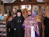 Vladyka Hilarion and Archpriest Vladimir Boikov